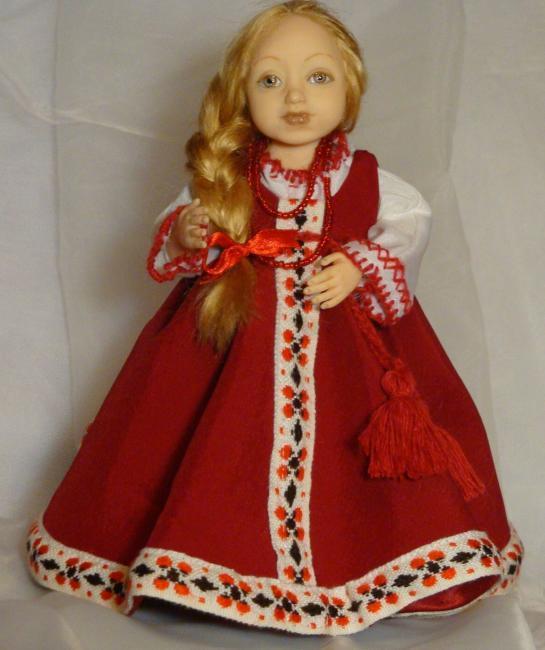 Русский костюм своими руками фото