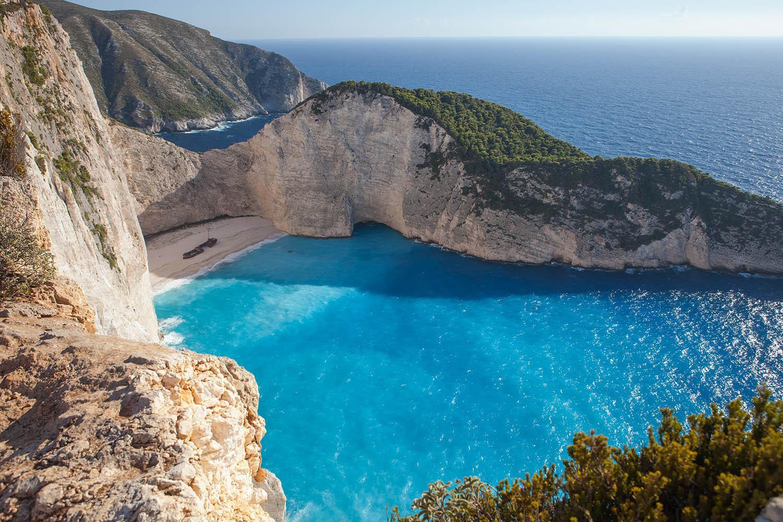 Греция остров закинф пляжи фото