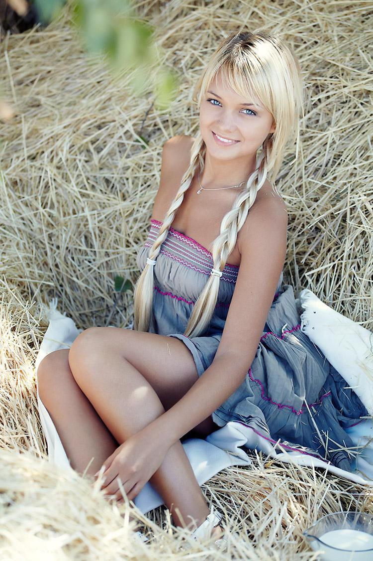 Фото русских моделей блондинок 9 фотография